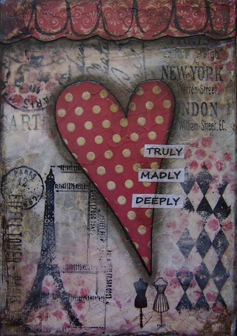 shabby heart painting2