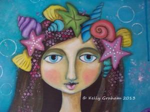 mermaid closeup