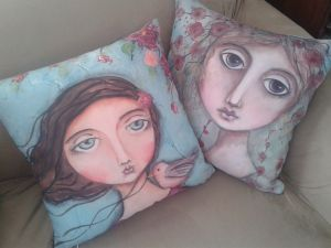 Cushions by me :)